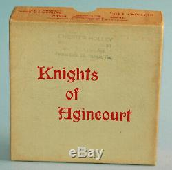 Britains England 1954 MOUNTED KNIGHT OF AGINCOURT SWORD #1660 Selwyn-Smith BOXED