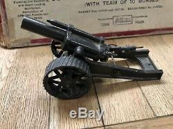 Britains Extremely Rare Boxed Set 211 Heavy Howitzer Team. Pre War c1930