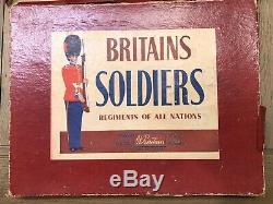 Britains Extremely Rare Boxed Set 2185 Bahamas Police Band. Post War