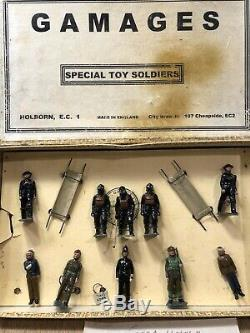 Britains For Gamages Exceptionally Rare Boxed Set 1759A Air Raid Precautions