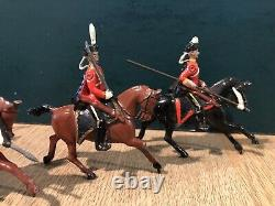 Britains From Scarce Set 153. Prussian Hussars. Pre War c1920s