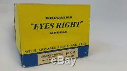 Britains H7283 Eyes Right Royal Marines Band Toy Soldier Set Rare 1961/66