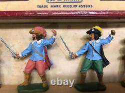 Britains Herald Boxed Set H7402 Cavaliers & Roundheads. Extremely Rare. C1962