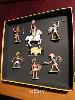 Britains Herald Early Trojan Set H7599 In Very Good Condition
