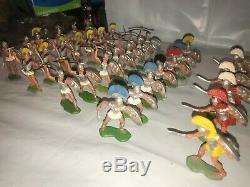 Britains Herald Greek Trojans (41) Pieces Rare