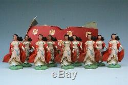 Britains Herald #H1491 Maid Marian MINT Tatty'Rahere' Street Maroon Trade Box
