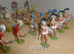 Britains Hong Kong Trojans Greeks Soldiers Collection Plastic 1.32