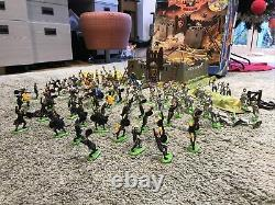 Britains Knight of the Sword castle in original box with 97 Knights