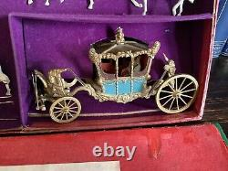 Britains Lead Historical Royal State Coach
