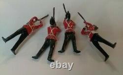 Britains Lead Soldiers 14 Pc Set, Queens Royal Regiment Orginal Box # 2086
