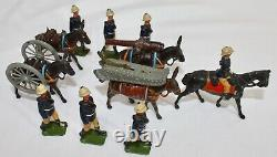 Britains Lead Toy Soldiers MOUNTAIN GUN OF THE ROYAL ARTILLERY #28. 1926-1937