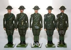 Britains Lead Toy Soldiers ROYAL ARTILLERY GUN CREW 16 Figures-Box-Combined Sets