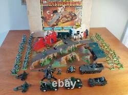 Britains Ltd Deetail Dinky Battleground German US British WWII Lot Collection