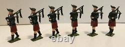 Britains Ltd. Set No. 2096 Pipes & Drums of The Irish Guards in Original Box