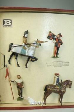Britains Medieval Knights in Armour-Tournament Knights #1258 MIB Historical