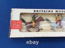 Britains Models Mounted Indians Boxed