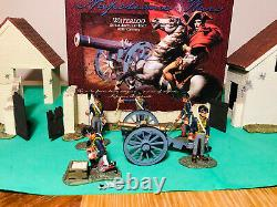 Britains Napoleonic Wars Royal Artillery Unit with Cannon Britains 00290 Boxed