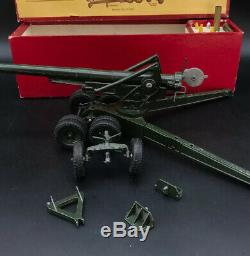 Britains No 2064 155mm Artillery Gun Mint In Early Box