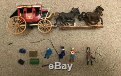 Britains Overland Stage 7615 Complete With Superb Box & Sleeve 1967 Cowboys