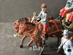 Britains Paris Office French Army Service Corps Wagon & Chasseurs. Rare