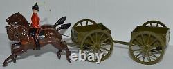 Britains Pre-War #1330 General Service Limber & Wagon-Royal Engineers EB-430