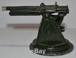 Britains Pre-War #1522 Anti-Aircraft Gun S6