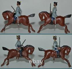 Britains Pre-War From Set #45 3rd Madras Cavalry RARE 1st Version 1896 GLSS