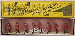 Britains Pre-War Rare Set #1602 Duke of Wellington's Regiment AA-11414