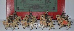 Britains Pre-War Set #101 Band of Life Guards withOriginal Box RARE (CX/1130)