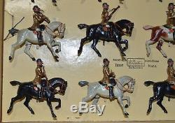 Britains Pre-War Set #101 Band of Life Guards withSlot Arms (CX/1120)