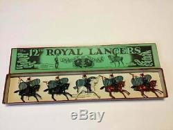 Britains Pre-War Set # 128 Prince of Wales 12th Royal Lancers AA-10655
