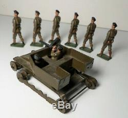 Britains Pre War Set #1322 Carden Lloyd Tank with Box