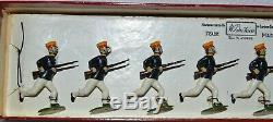 Britains Pre-War Set #134 Japanese Infantry (Dark Blue Tunics RARE) AA-10663