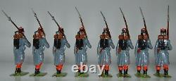 Britains Pre-War Set #141 Infanterie de Ligne EXCEPTIONAL AA-11707