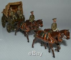 Britains Pre-War Set #145A Royal Army Medical Corps GLSS