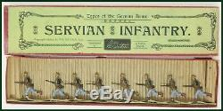 Britains Pre-War Set #173 Servian (Serbian) Infantry AA-11086