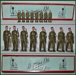 Britains Pre-War Set #1918 The Home Guard Wavell Series (CX/1110)