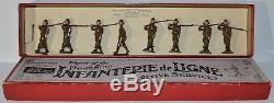 Britains Pre-War Set #192 Infanterie de Ligne Active Service CX-1175