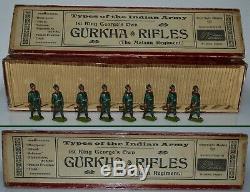 Britains Pre-War Set #197 Gurkha Rifles AA-11067