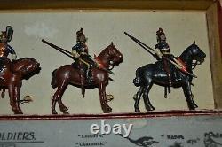 Britains Pre-War Set #24 9th Queen's Royal Lancers (1903 Version) AA-11014