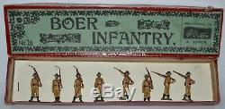 Britains Pre-War Set #28 Boer Infantry (1899) VERY GOOD to EXCELLENT AA-11689