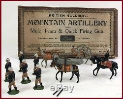 Britains Pre-War Set #28 British Mountain Artillery AA-11080