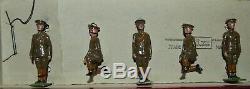 Britains Pre-War Set #313 Royal Artillery Gunners AA-10222