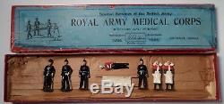 Britains Pre War Set #320 Royal Medical Corps with Box