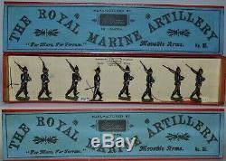 Britains Pre-War Set #35 Royal Marine Artillery Floca CollectionAA-11108
