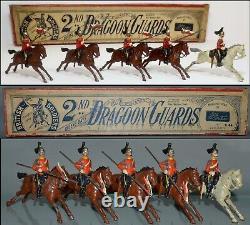 Britains Pre-War Set #44 2nd Dragoon Guards Queen AA-12443
