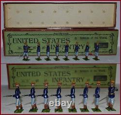 Britains Pre-War Set #91 United States Infantry (ca, 1910)