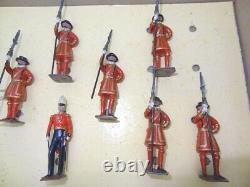 Britains Pre-war Set 1257 Yeomen Of The Guard From 1932 Rare With Box