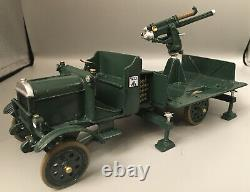 Britains Premier #41036 WWI Thornycroft Lorry Anti-Aircraft Gun & Gun Detachment