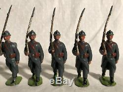 Britains Prewar #192 French Infanterie De Ligne In Active Service